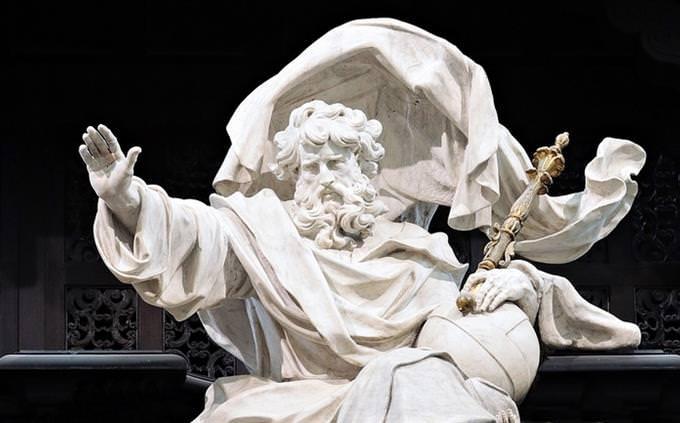 בחן את עצמך - עברית מקראית: פסל של דמות אלוהית