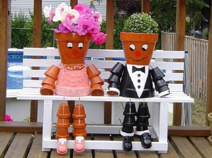 אנשי עציצים על ספסל