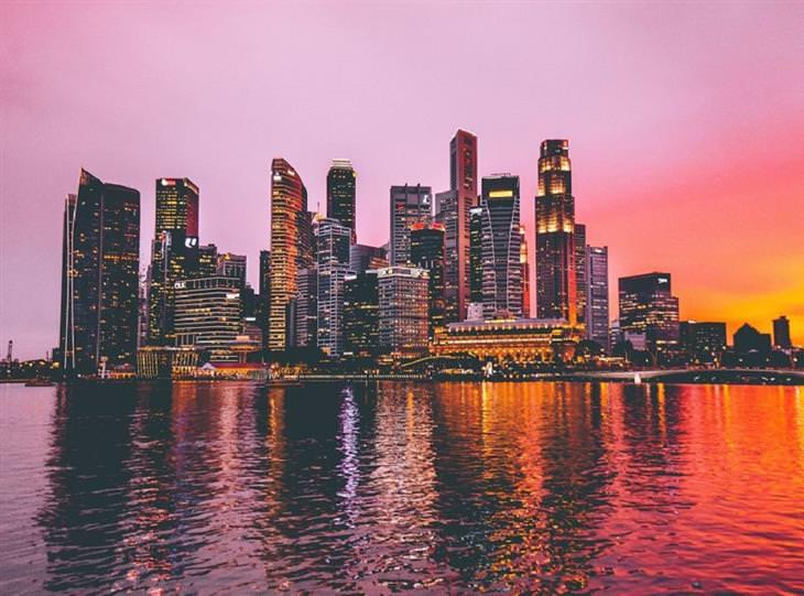 מבנים מדהימים בסינגפור