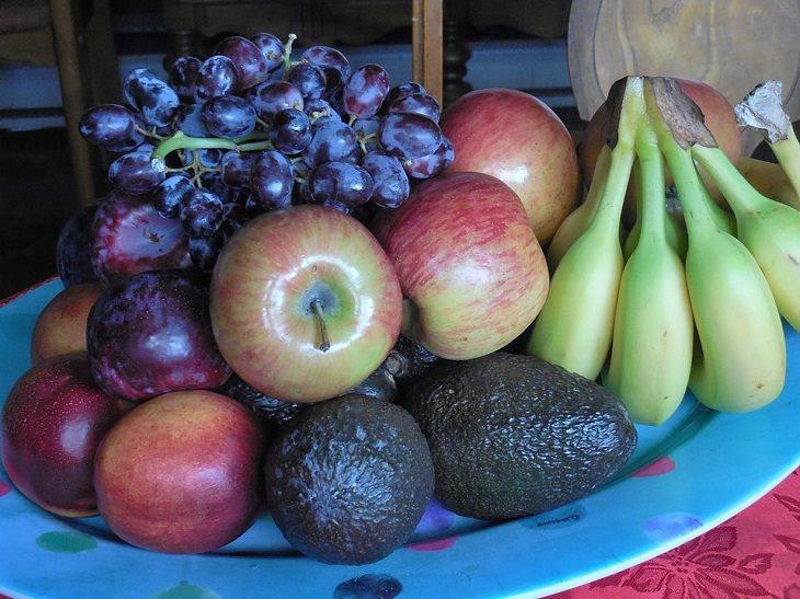 צלחת פירות
