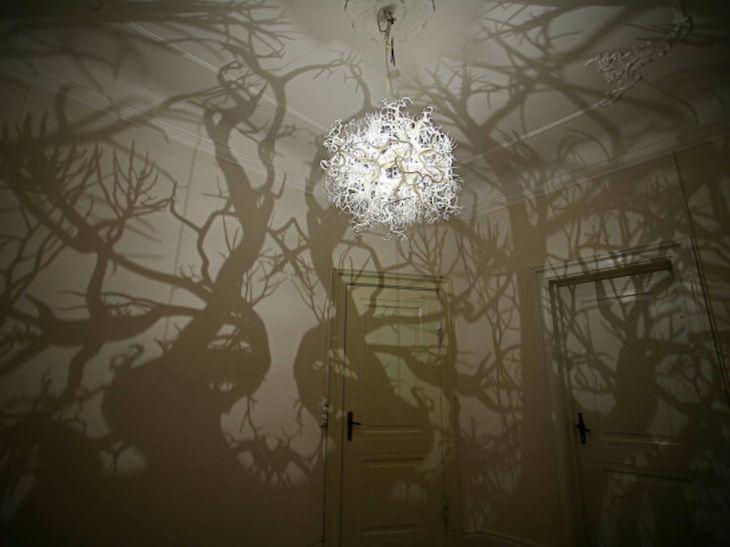 מנורת יער מכושף