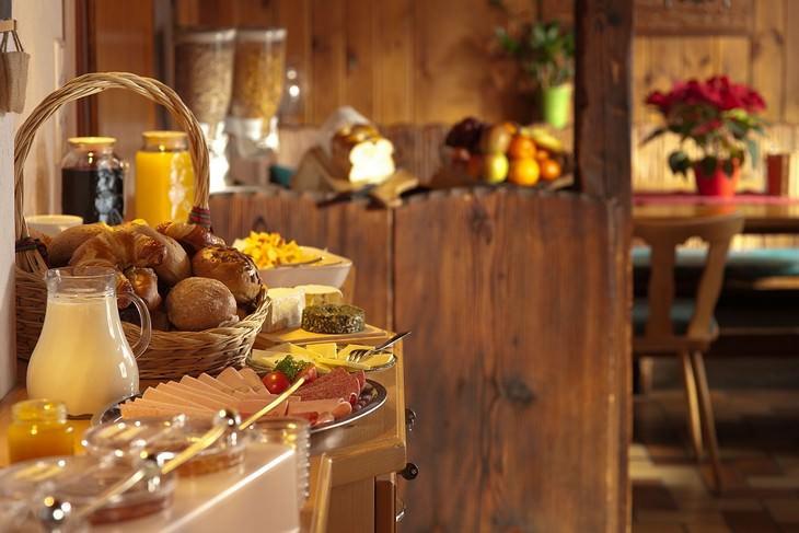 מזנון של ארוחת בוקר
