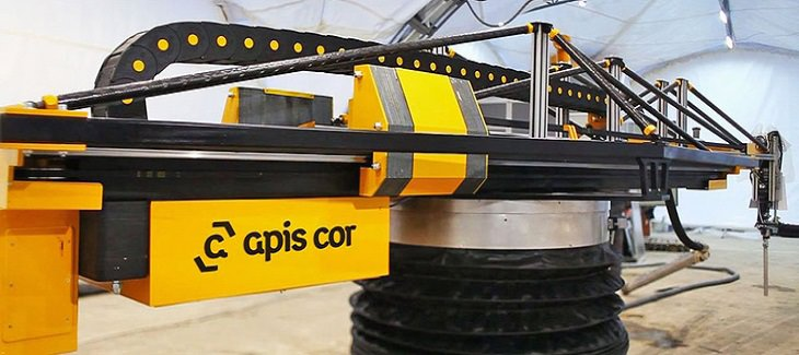 מדפסת הבניין של חברת Apis Cor