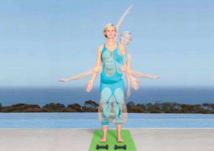 תרגיל יוגה: כיפוף קדימה בעמידה