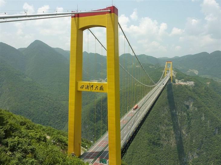 גשר נהר סידו, סין