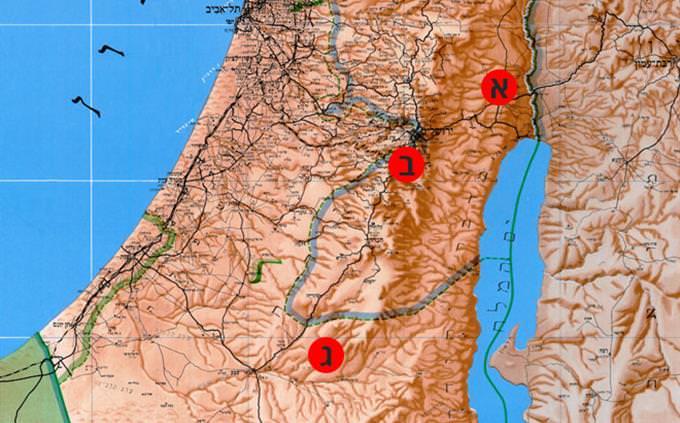 מפת ישראל
