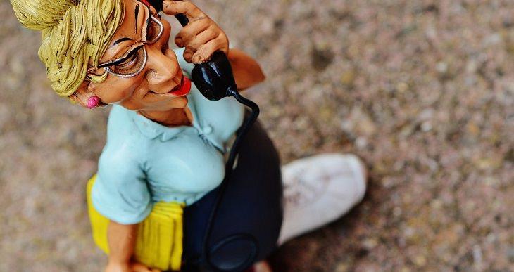 בובה של מזכירה