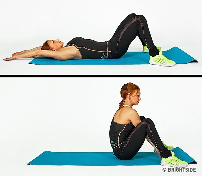 תרגיל לחיטוב הבטן