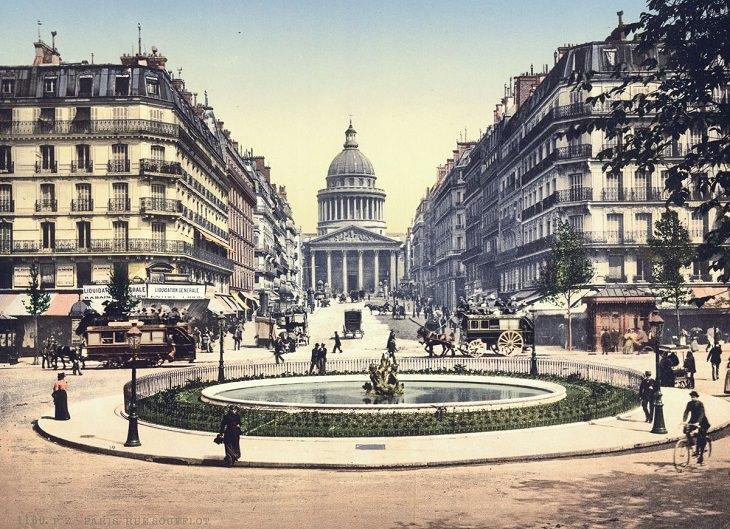 רחוב סופלוט והפנתיאון הצרפתי