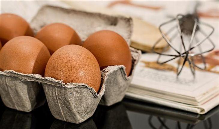 ביצים, מטרפה וספר מתכונים