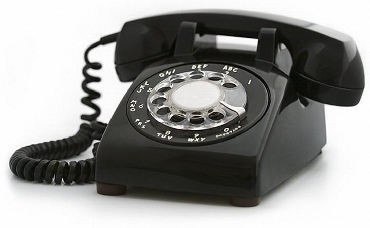טלפון קווי עם חוגה