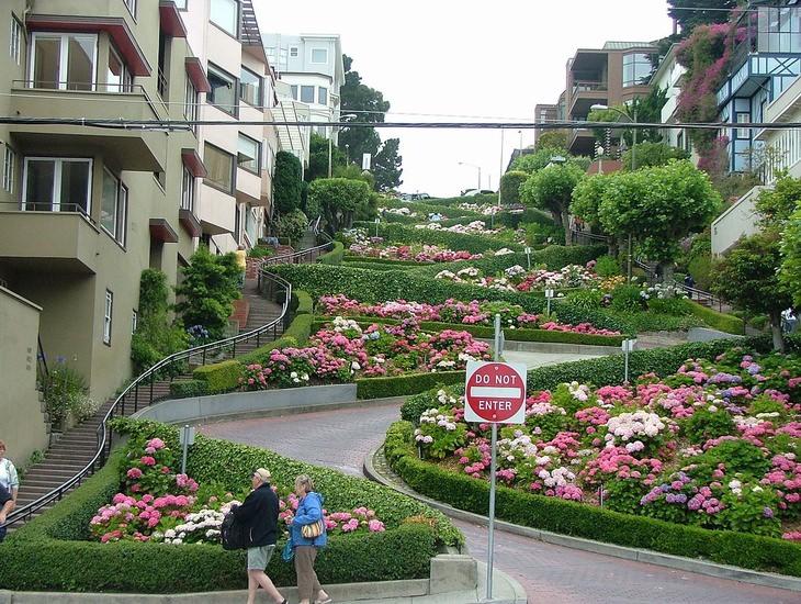 רחוב לומברד, סן פרנסיסקו, קליפורניה
