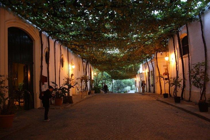 רחובות רחובות העיר חרס דה לה פרונטרה, אנדלוסיה, ספרד