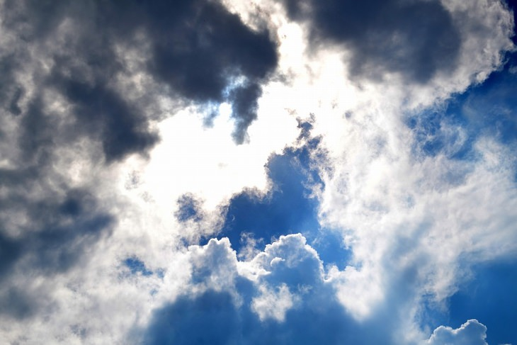 שמים מכוסים עננים