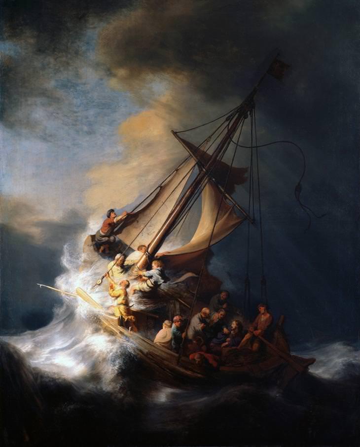 סערה בים כנרת