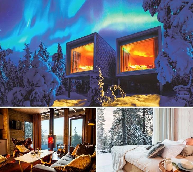 מלונות מיוחדים מרחבי העולם: מלון ארקטי על העץ, פינלנד