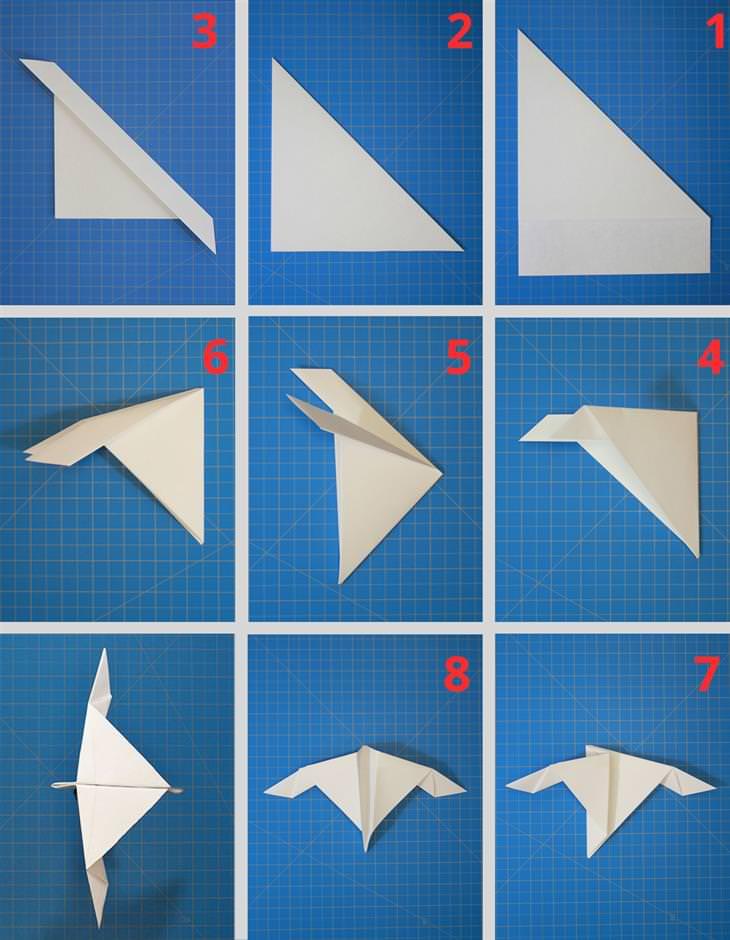 מדריכים ליצירת מטוסי נייר מיוחדים: הוראות הכנה למטוס שחף