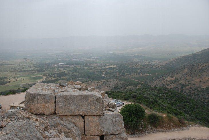 תצפית ממצודת נמרוד
