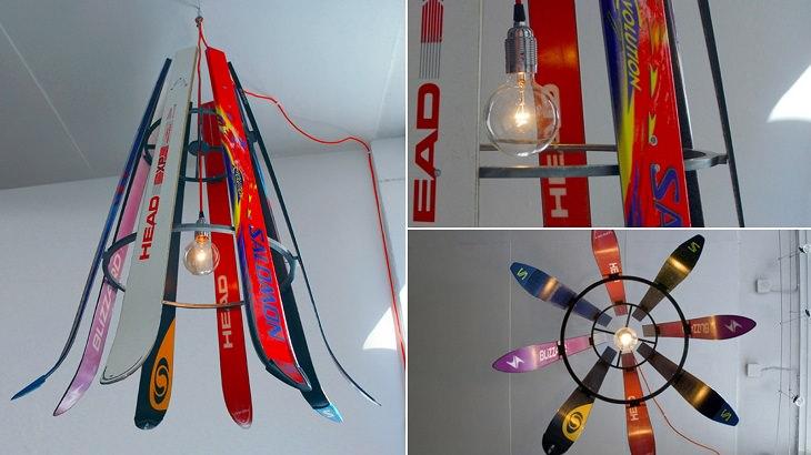 רהיטים מיוחדים: אהיל מגלשי סקי
