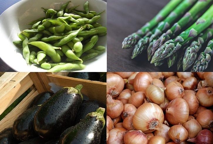 מניעת בעיות בעור על ידי תזונה: אספרגוס, סויה, בצל וחציל