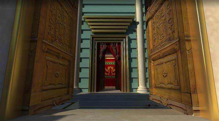 סיור וירטואלי בבית המקדש: שחזור של לבית המקדש