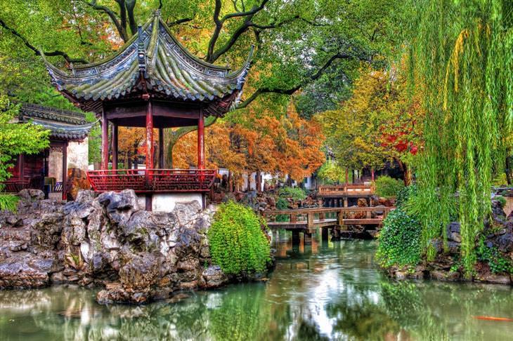 מסע בתמונות בדרך המשי: גן סיני