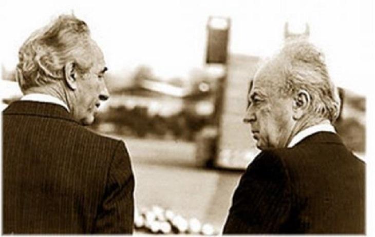 סכסוכים והתפייסויות בתרבות הישראלית: יצחק רבין ושמעון פרס