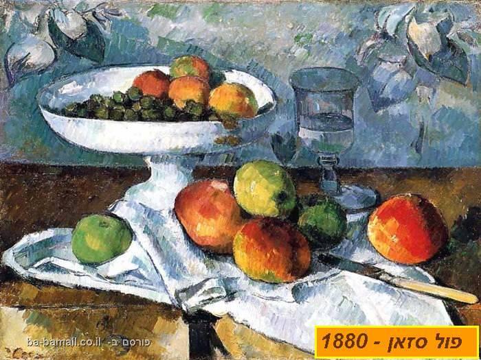 צייר, ציור, ציירים, אימפרסיוניסטים, פול סזאן