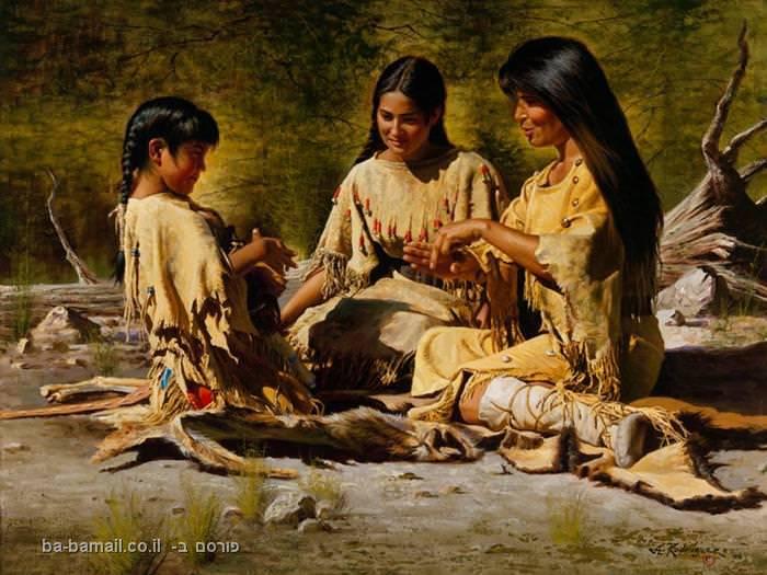אלפרדו רודריגז, ציור, אומנות, אינדיאנים