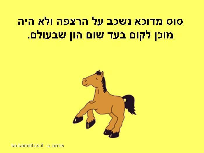 סיפור הסוס והפרה