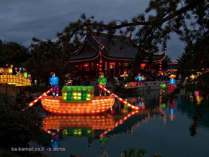 ככה חוגגים תחילת שנה בסין