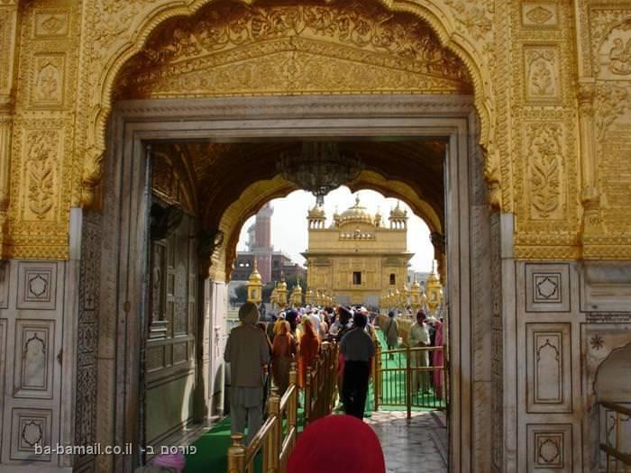 מקדש הזהב של דת הסיקיזם בהודו
