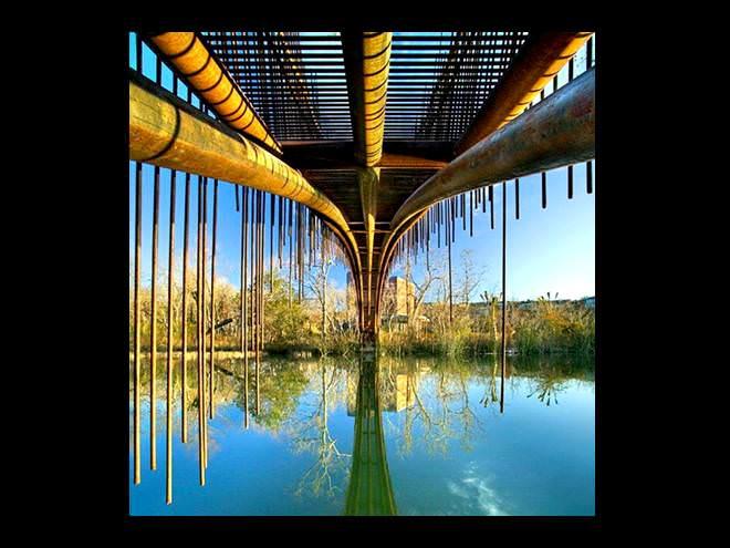 גשר, טקסס , אגם אוסטין