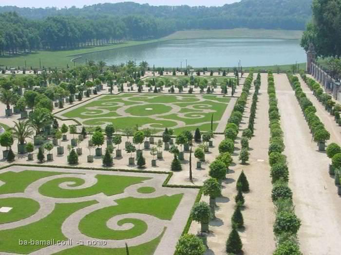 גנים, גן, פרחים, גני ארמון ורסאי, ורסאי, צרפת