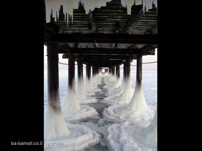 תמונות מדהימות, מרגש. קרח