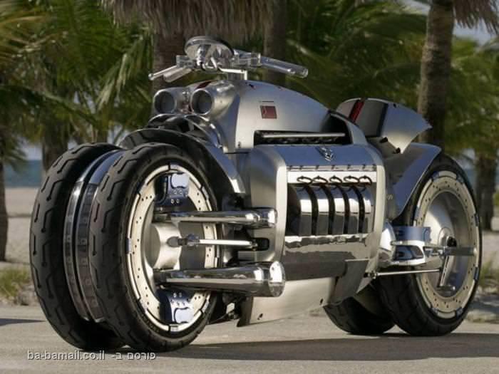 דודג' טומהוק - אופנוע או כלי מלחמה?