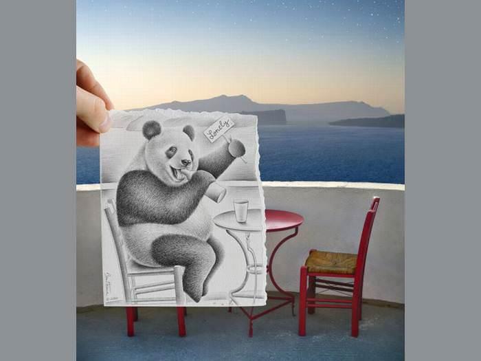 ציור וצילום