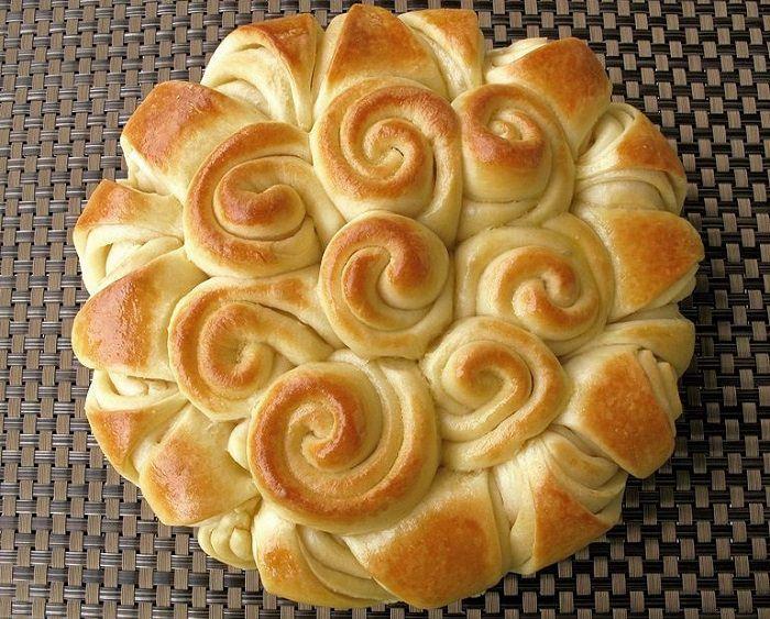 מתכון קל ללחם שושנים