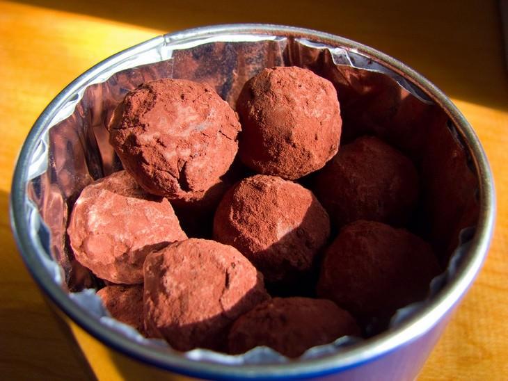 מתכון לטראפלס שוקולדי בסיסי