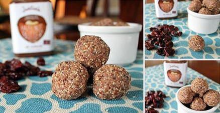 מתכון לכדורי שוקולד ואגוזים - קל להכנה
