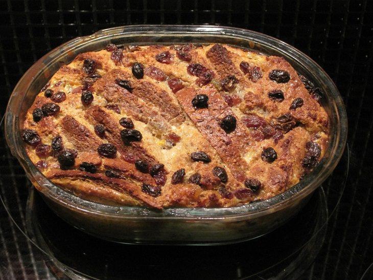 מתכון לפודינג לחם וחמאה