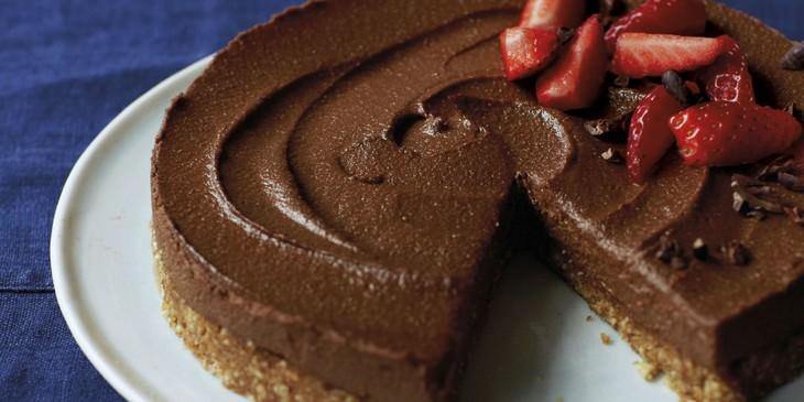 מתכון לעוגת שוקולד גבינה טבעונית