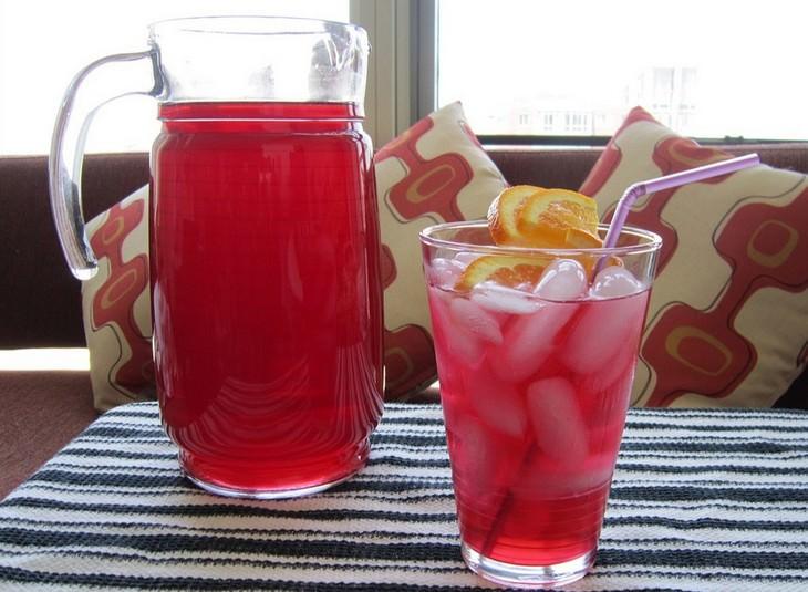 מתכון למשקה אוכמניות עם תחליף סוכר