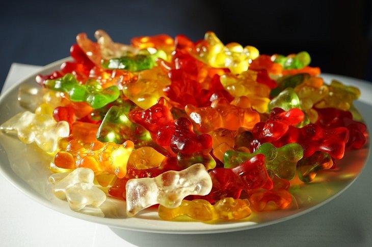 מתכון לסוכריות גומי