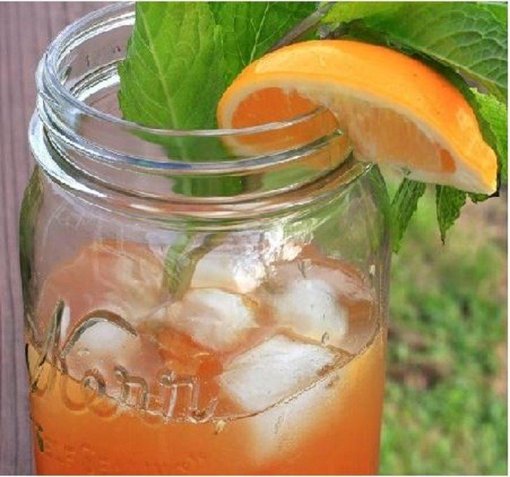 מתכון לתה ארל גריי קר עם תפוז