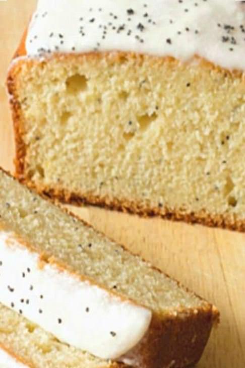 מתכון לעוגת לחם פרג ולימון