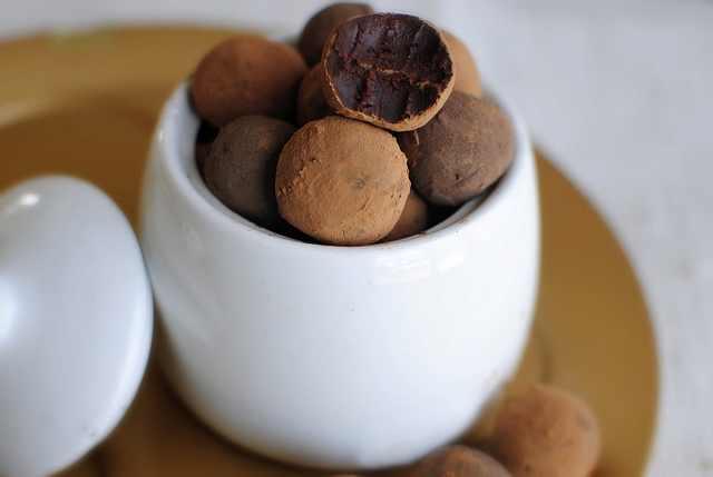 מתכון לטראפלס שוקולד חריף
