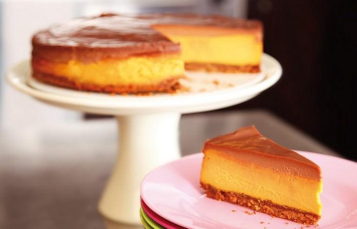 מתכון לעוגת גבינה וחמאת בוטנים עם ביסקוויטים