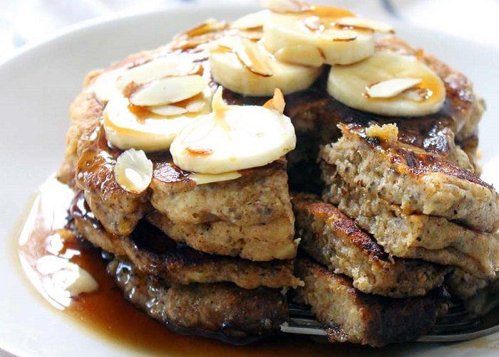 מתכון לפנקייק בננה וזרעי צ'יה