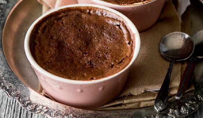 מתכון לעוגת שוקולד אגוזים בספל